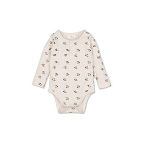 Burrow & Be Henley Bodysuit - Earth Child