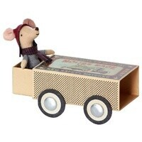 Maileg - Mouse in a Box - Racer