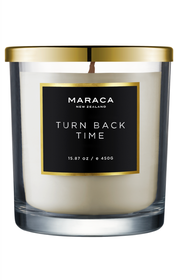 Maraca Turn Back Time Luxury Candle