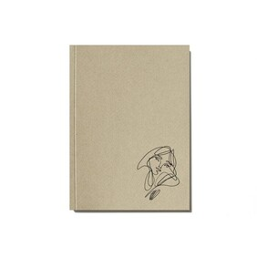An Organised Life x Elise Barber Paper Notebook - Beige
