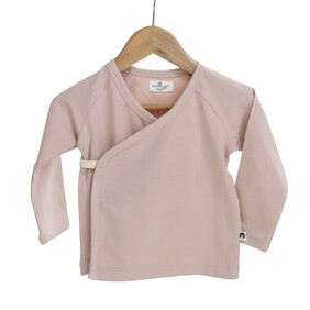 Burrow & Be Kimono Top - Dusty Rose