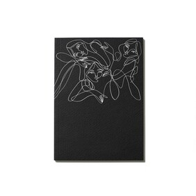 An Organised Life x Elise Barber Paper Notebook - Black