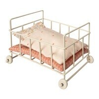 Maileg - Metal Baby Cot