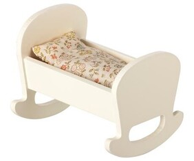 Maileg Baby Mouse Cradle