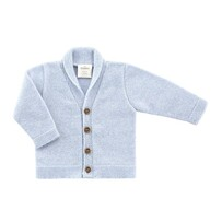 Benmore Knits Classic Cardigan  - Sky Blue