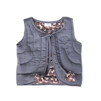 Burrow & Be Ink & Flower Fields Quilted Vest