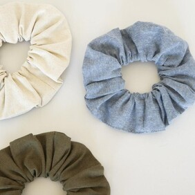 Sophie So Scrunchie - Linen/Cotton