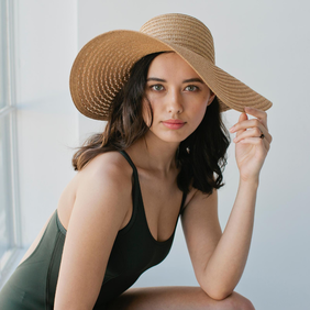 Sophie So Shady Extra Hat - Natural
