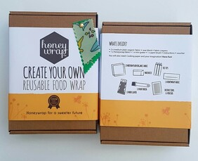 Honeywrap Create Your Own Reusable Food Wrap