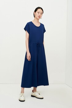 Kowtow Drawcord Jumpsuit - Dark Blue